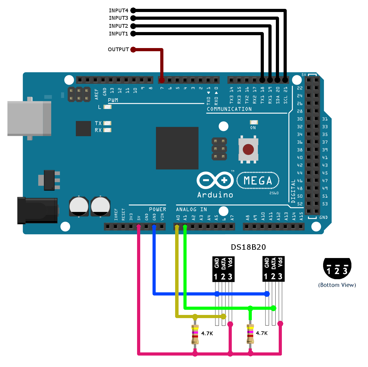 ARDUINO - Shield - Interface connexion